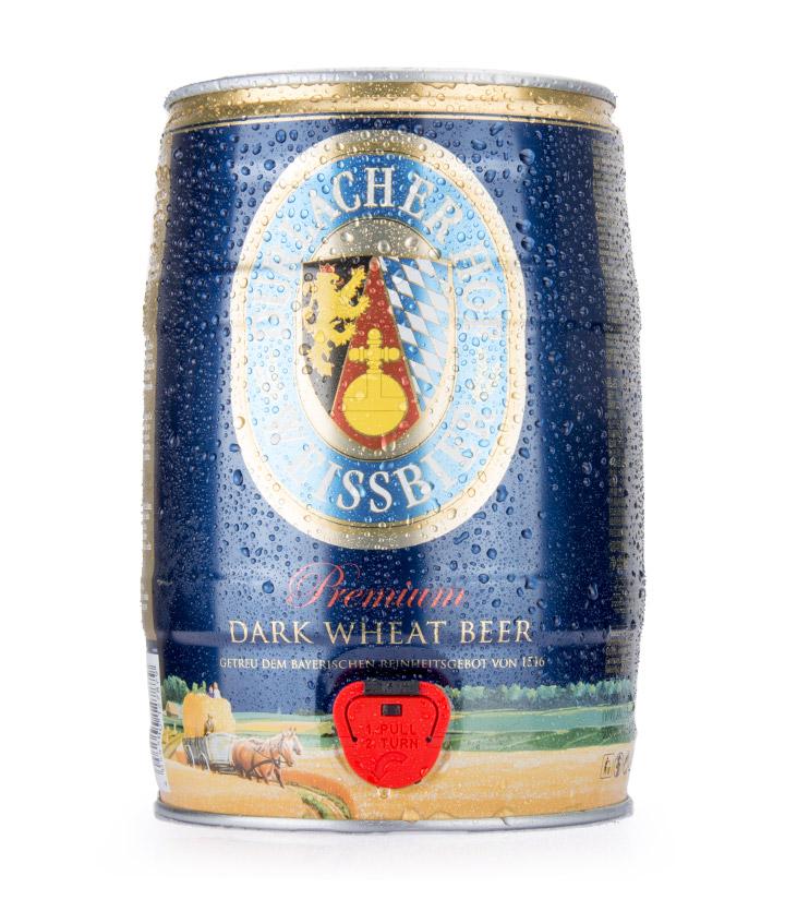 德国德拉克黑啤酒5L 件