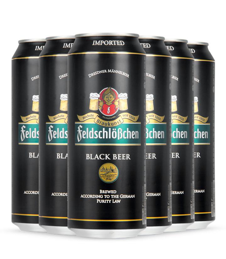 德国费尔德堡黑啤酒500ml 瓶