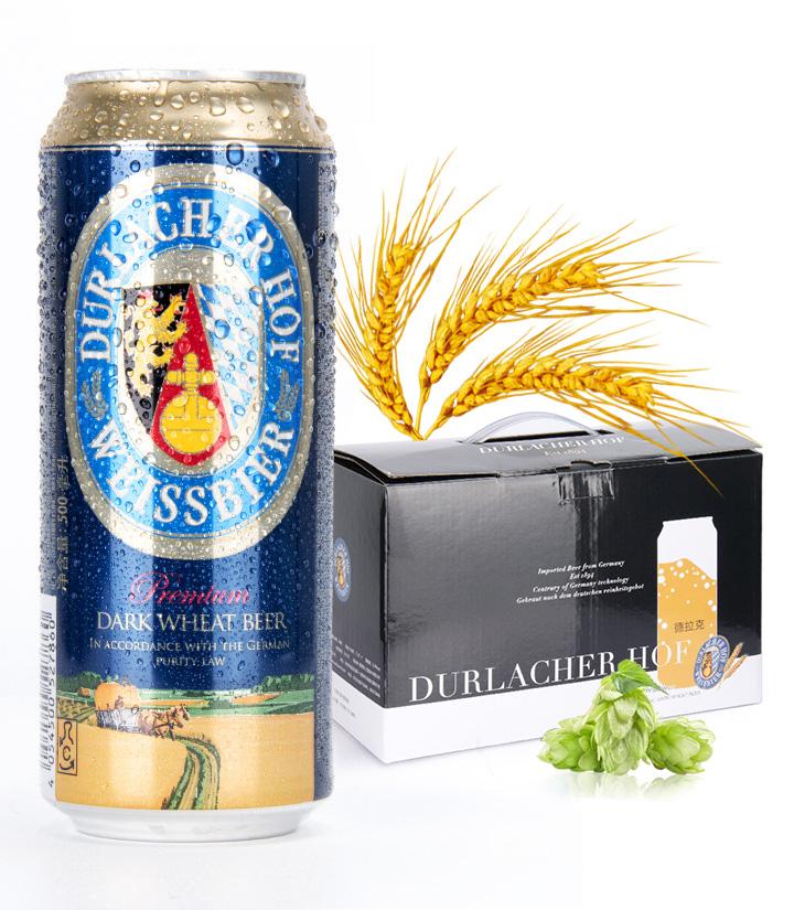 德国德拉克黑啤酒500ml 件
