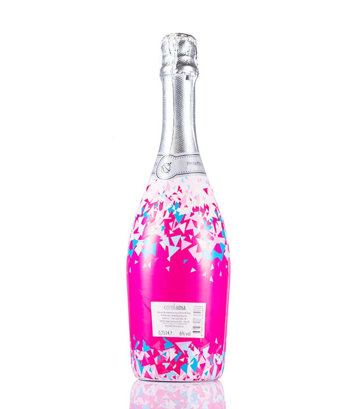6°意大利万多炫丽低醇桃红起泡葡萄酒750ml 瓶