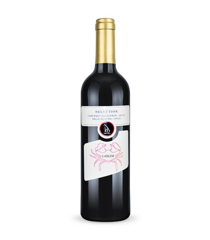 13°智利12星座系列红酒之巨蟹座750ml