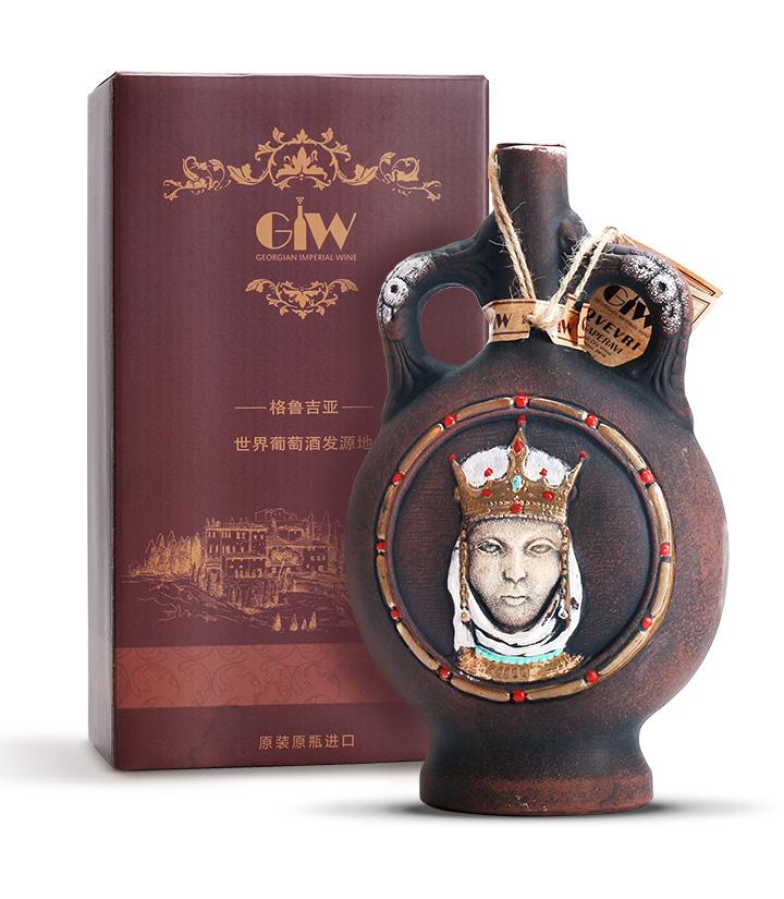 13°格鲁吉亚王妃陶罐干红葡萄酒750ml 瓶