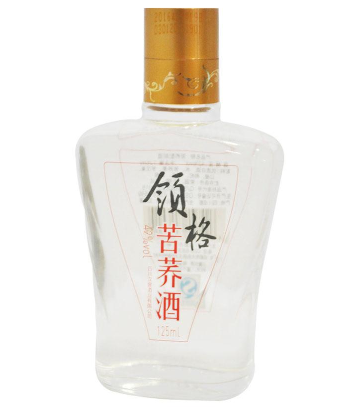 42°领格苦荞酒125ml 瓶