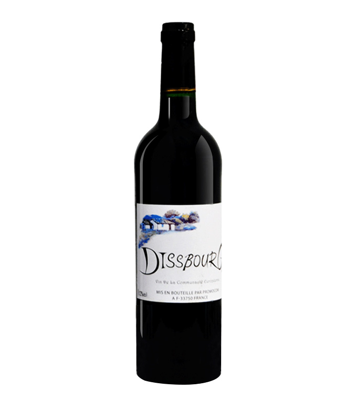 12°法国黛森深堡干红葡萄酒750ml