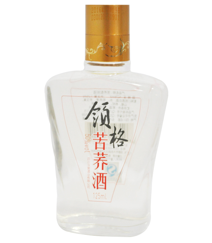 50°领格苦荞酒125ml 瓶