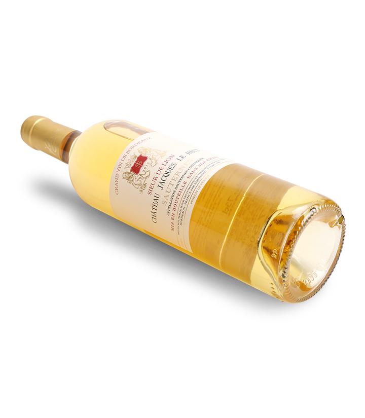 13.5°法国狮爵城堡苏玳甜白葡萄酒750ml