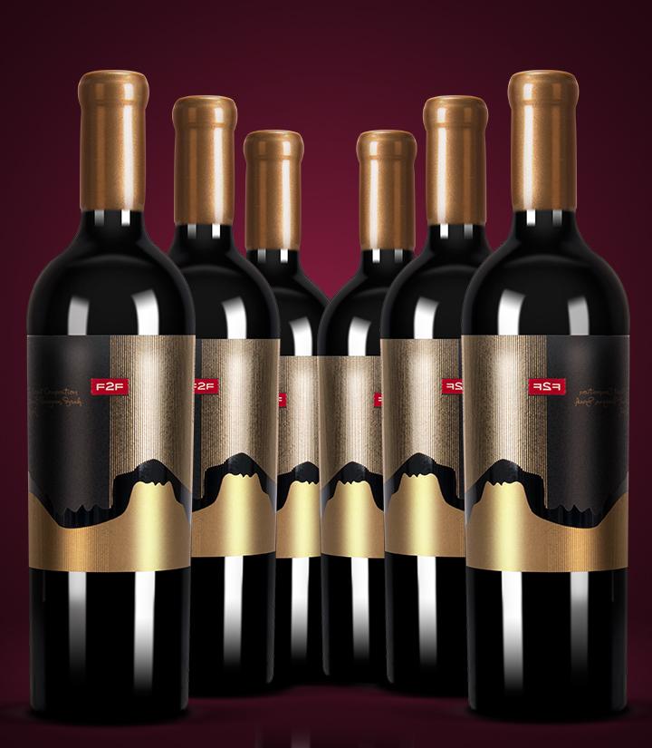 13°保加利亚面对面赤霞珠混酿干红葡萄酒750ml