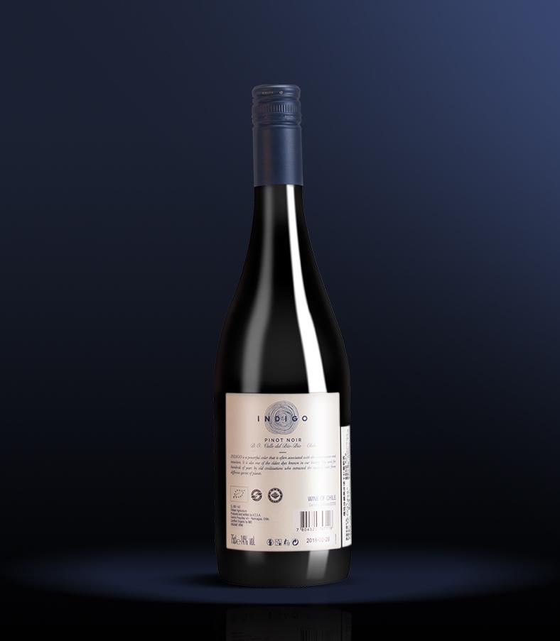 14°智利鹰格珍藏黑皮诺干红葡萄酒750ml