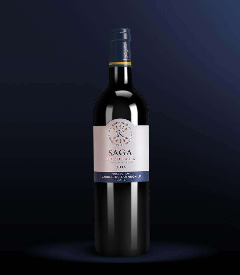 12.5°法国拉菲传说波尔多葡萄酒750ml