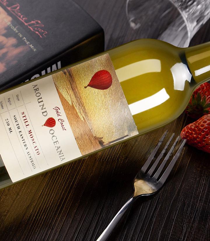 8°澳洲环澳莫斯卡托甜白葡萄酒750ml