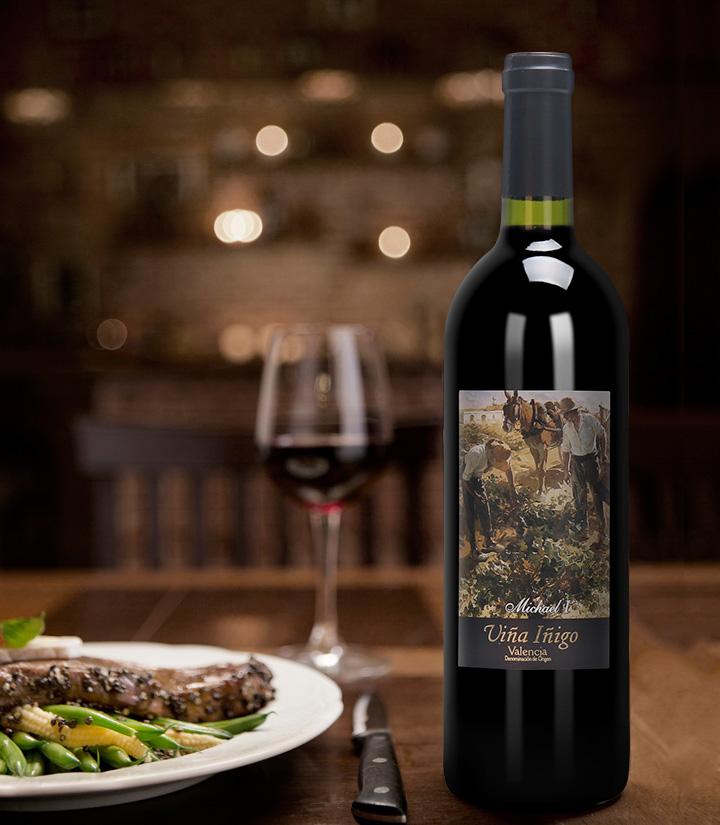 12°西班牙宜兰树米切尔一世干红葡萄酒750ml