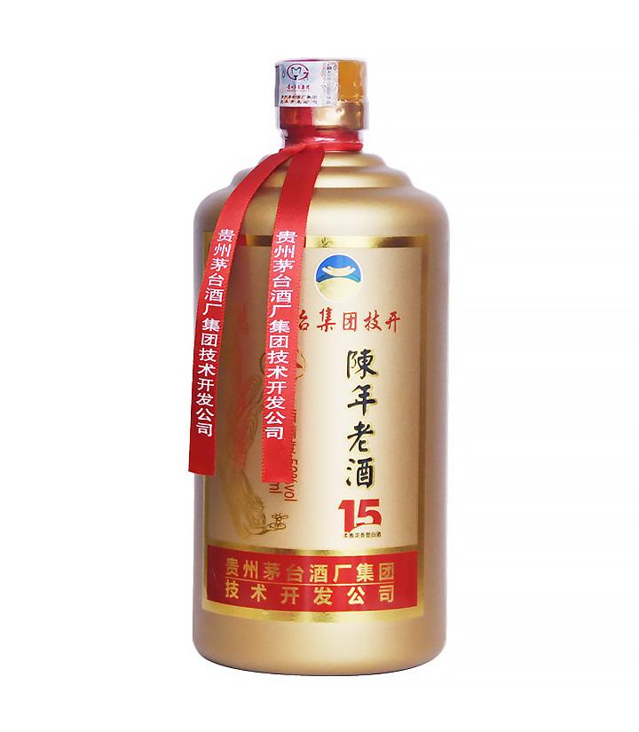 52°茅台技开陈年老酒15年500ml