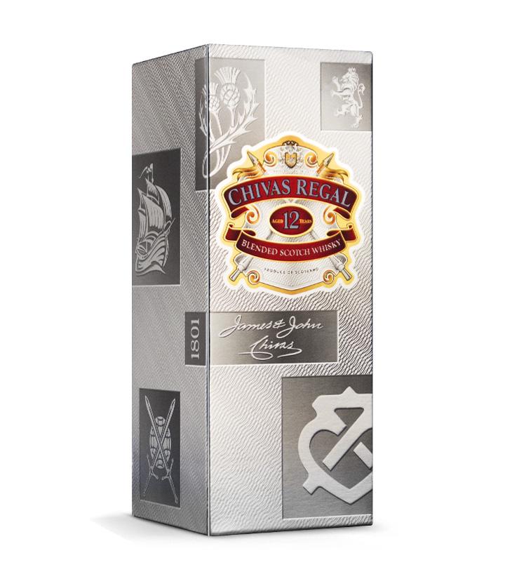 英国芝华士12年苏格兰威士忌700ml