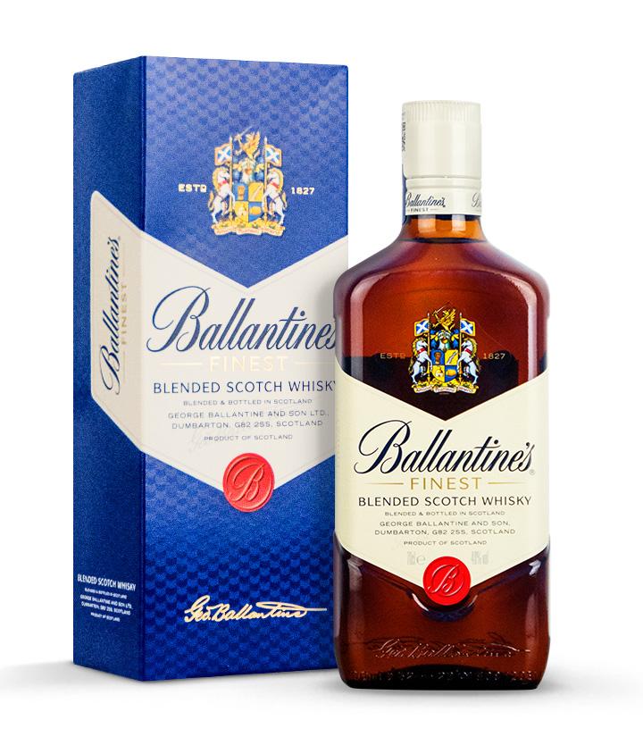 英国百龄坛特醇苏格兰威士忌700ml