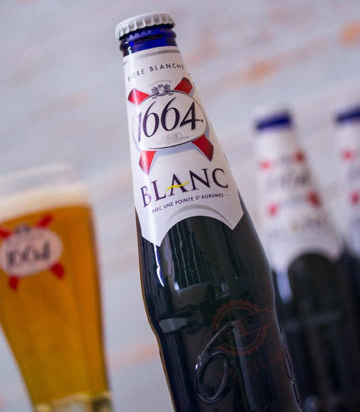 法国克伦堡1664啤酒330ml