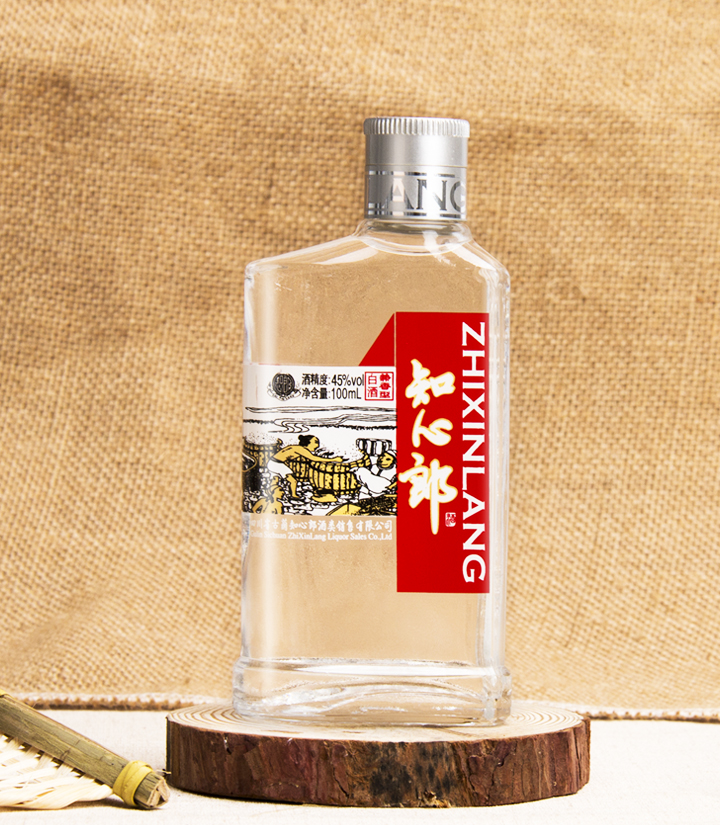45°知心郎小酒100ml(红色) 瓶