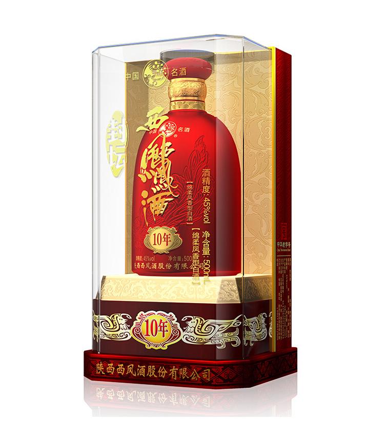 45°西凤酒封坛10年 500ml  瓶