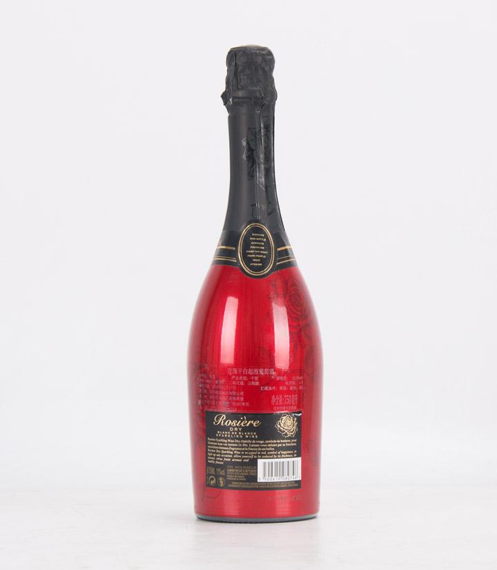 10.5°法国玫瑰干白起泡葡萄酒750ml