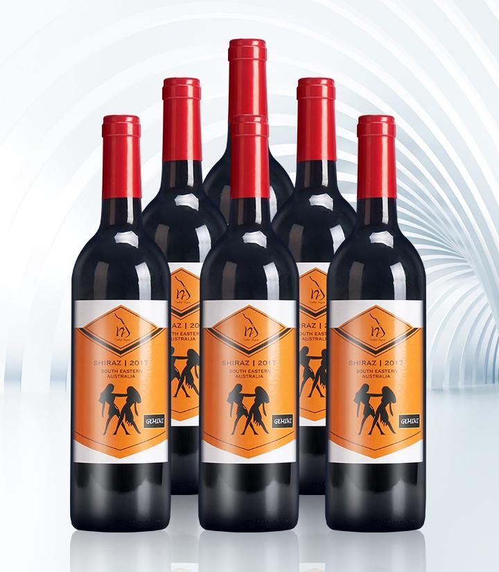 14°澳洲十二星座之双子座干红葡萄酒750ml