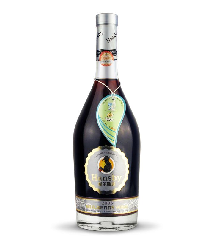 翰尔斯贝桑椹干红酒2003 700ml