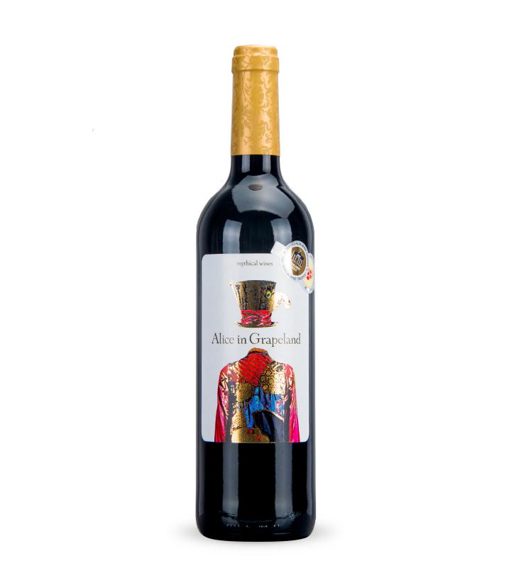 12.5°西班牙爱丽丝干红葡萄酒750ml