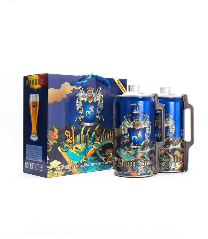 德国德柏斯格白啤酒2L*2