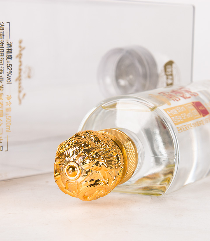 52°浏阳河小香坛红5 500ml 瓶