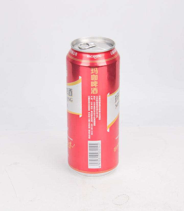 玛咖啤酒500ml 瓶