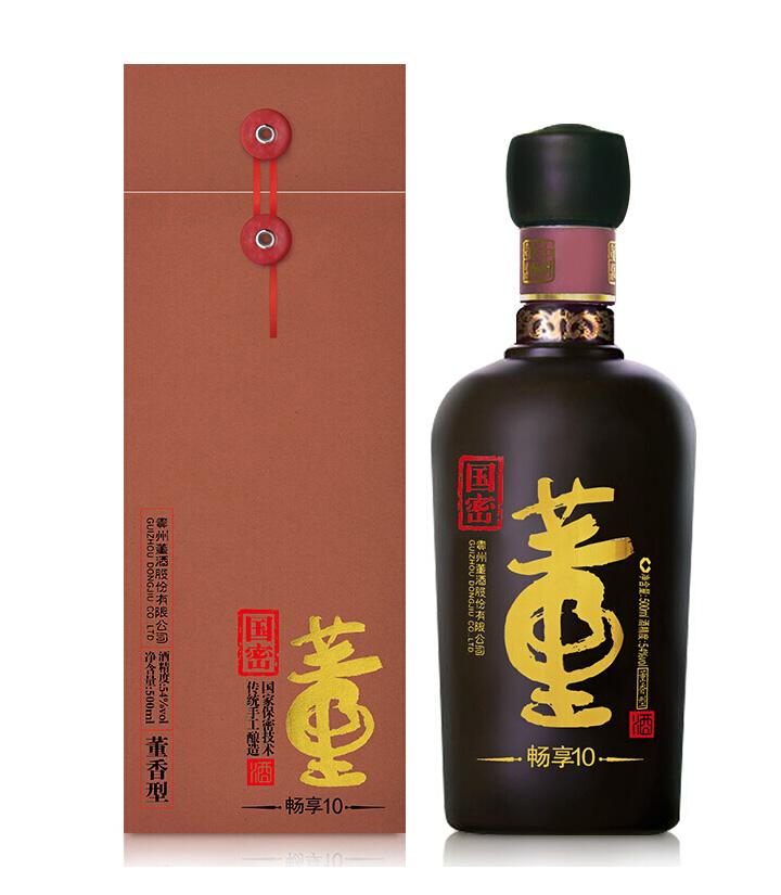 54°董酒国密畅享10 500ml 瓶