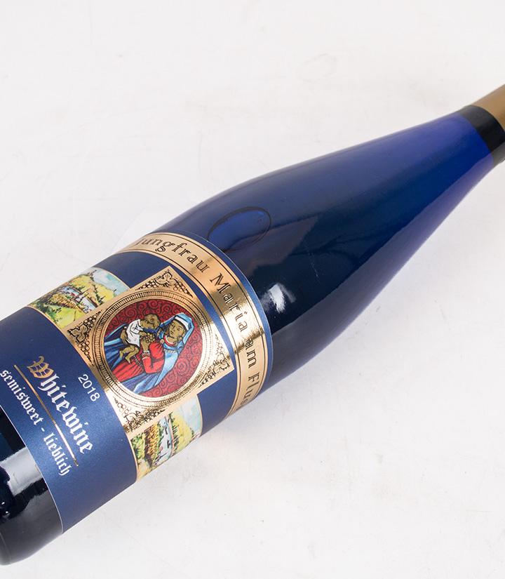10°德国圣母河畔半甜白葡萄酒750ml