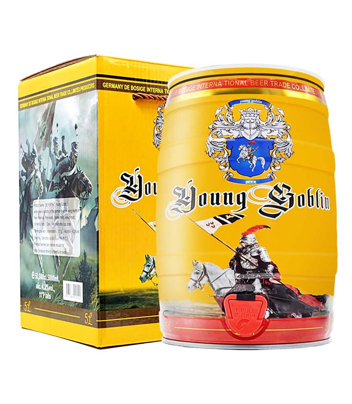 德国德柏斯格白啤酒5L