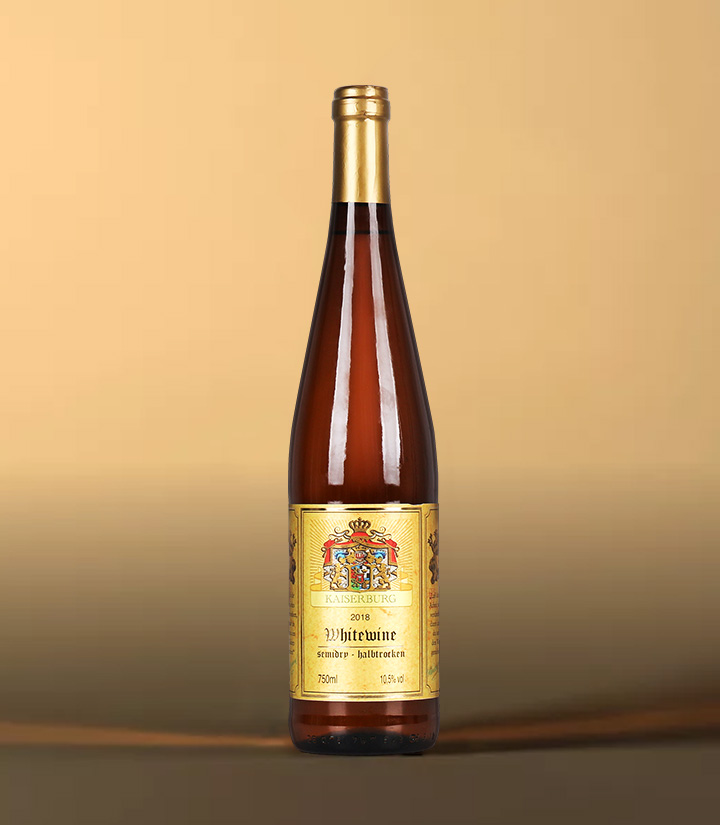 10.5°德国凯撒堡半干白葡萄酒750ml