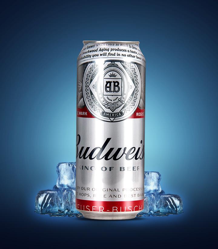百威啤酒(铝瓶)500ml