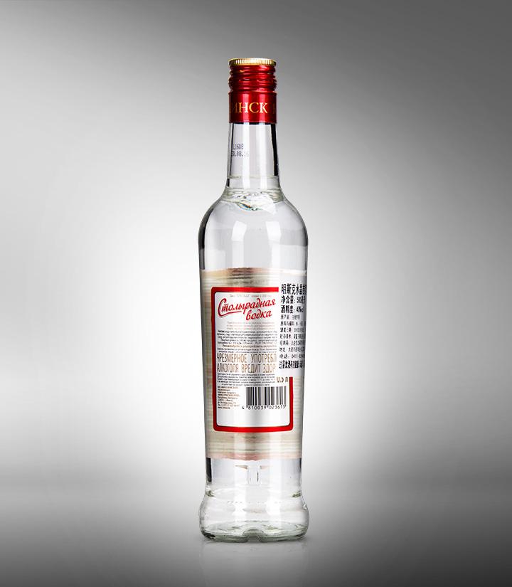 白俄罗斯明斯克水晶首都伏特加500ml 瓶