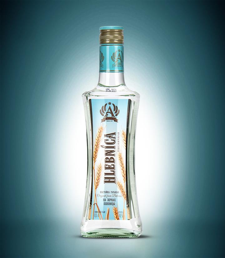 白俄罗斯阿克瓦蒂夫面包味伏特加500ml 瓶