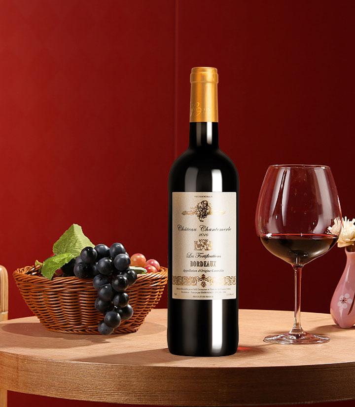 13.5°法国天使要塞酒庄红葡萄酒750ml 件