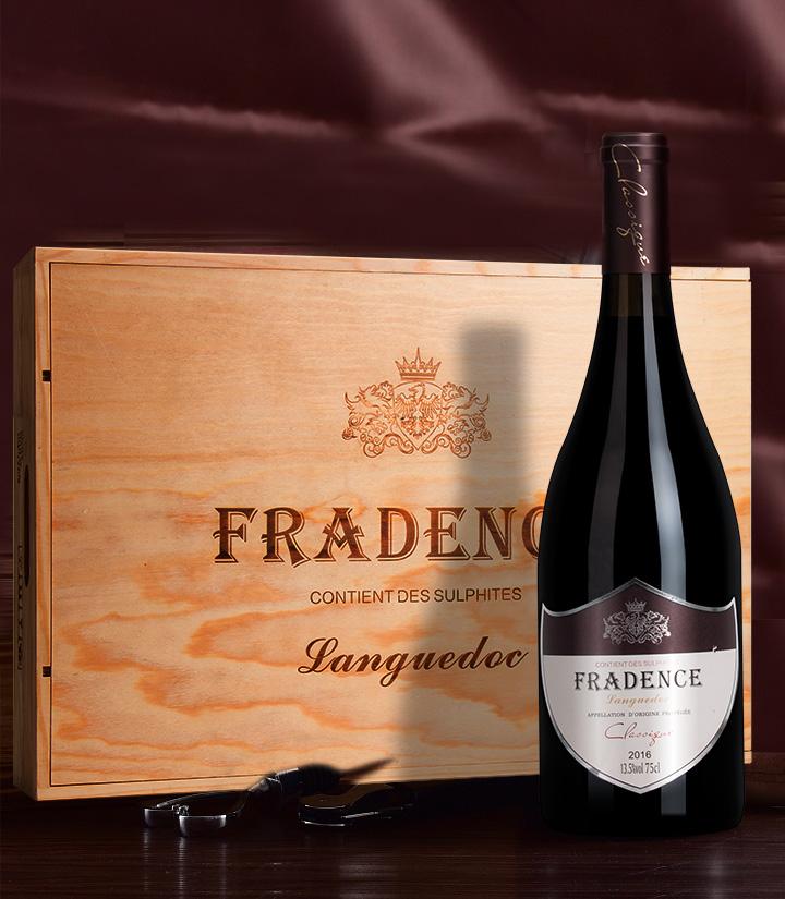 13.5°法国法得西堡丽干红葡萄酒750ml 件
