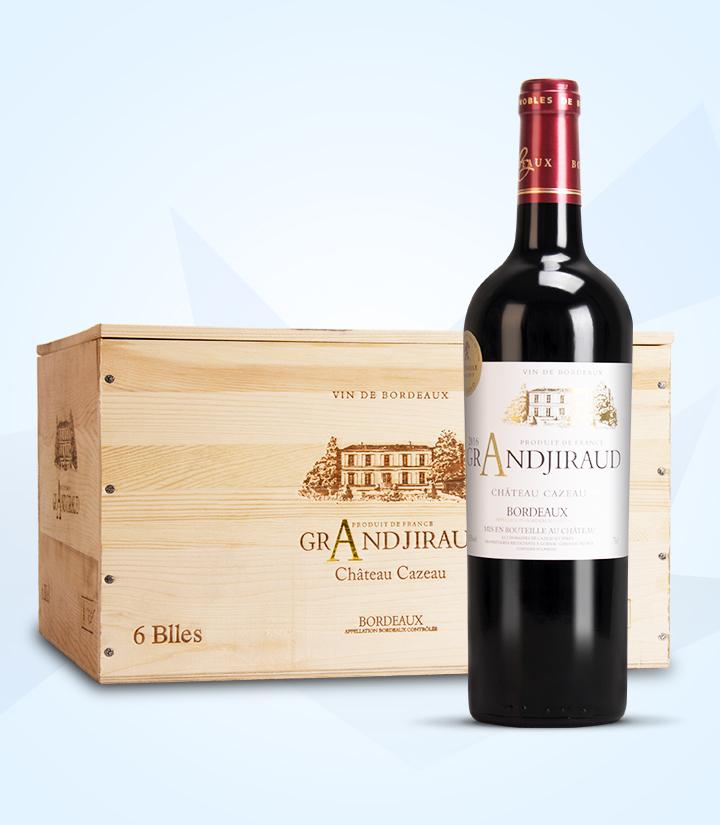 13.5°法国大吉航酒庄干红葡萄酒750ml 瓶