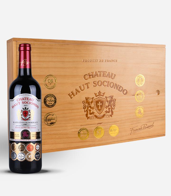 13°法国相思城堡红葡萄酒750ml 件