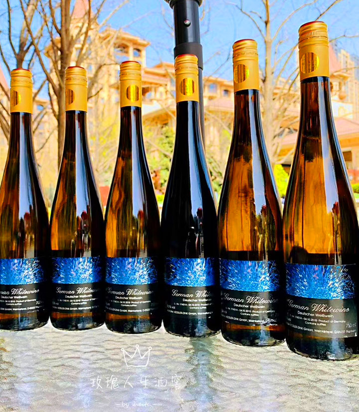 10.5°德国富威烟火白葡萄酒750ml