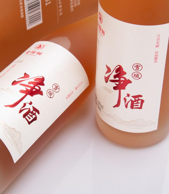 雪域净酒青稞酒750ml