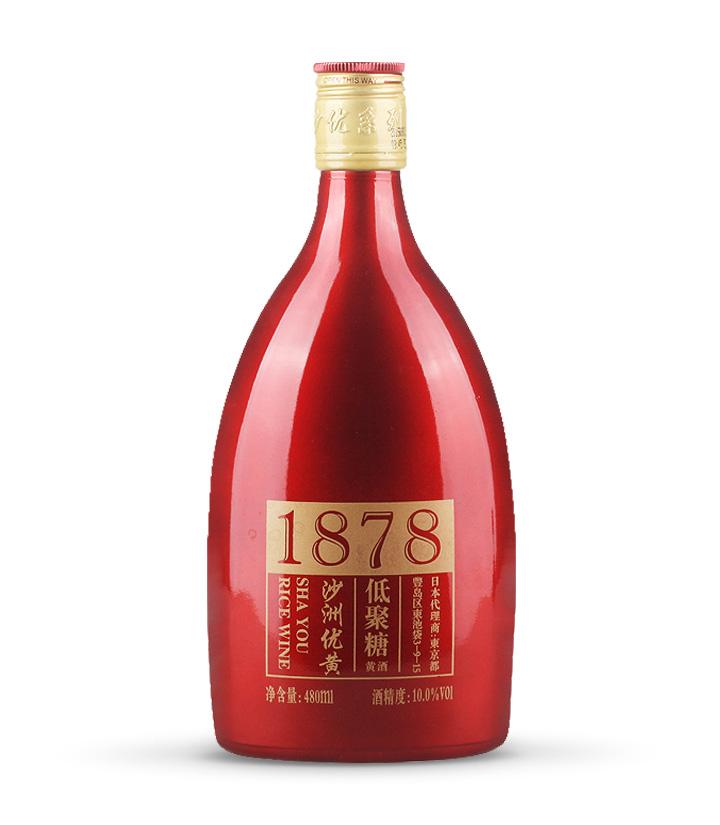沙洲优黄红标1878 480ml 瓶