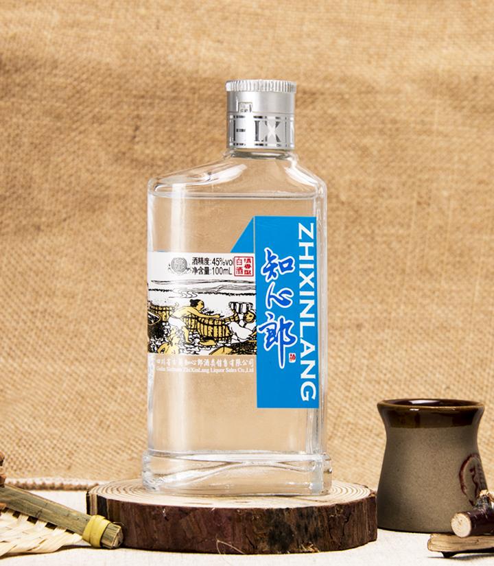 45°知心郎小酒100ml(蓝色) 瓶