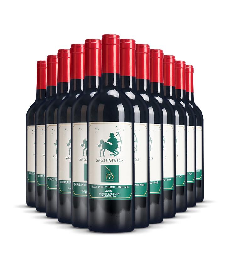 14°澳洲十二星座之射手座干红葡萄酒750ml 件