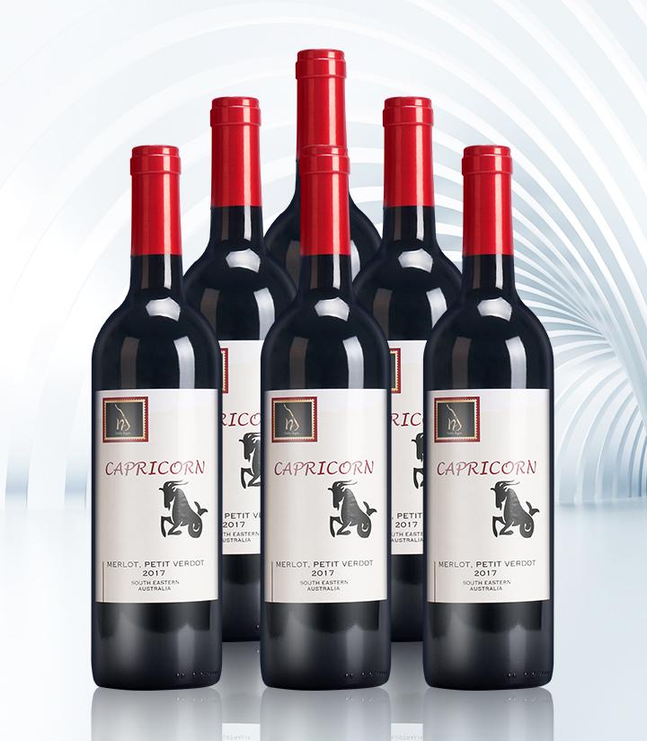 14°澳洲十二星座之摩羯座干红葡萄酒750ml 瓶