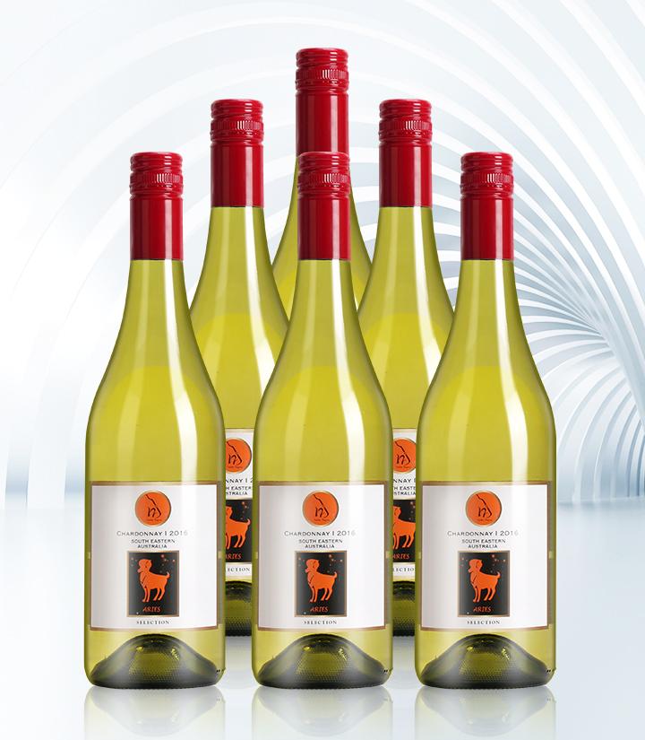 14°澳洲十二星座之白羊座干白葡萄酒750ml 瓶