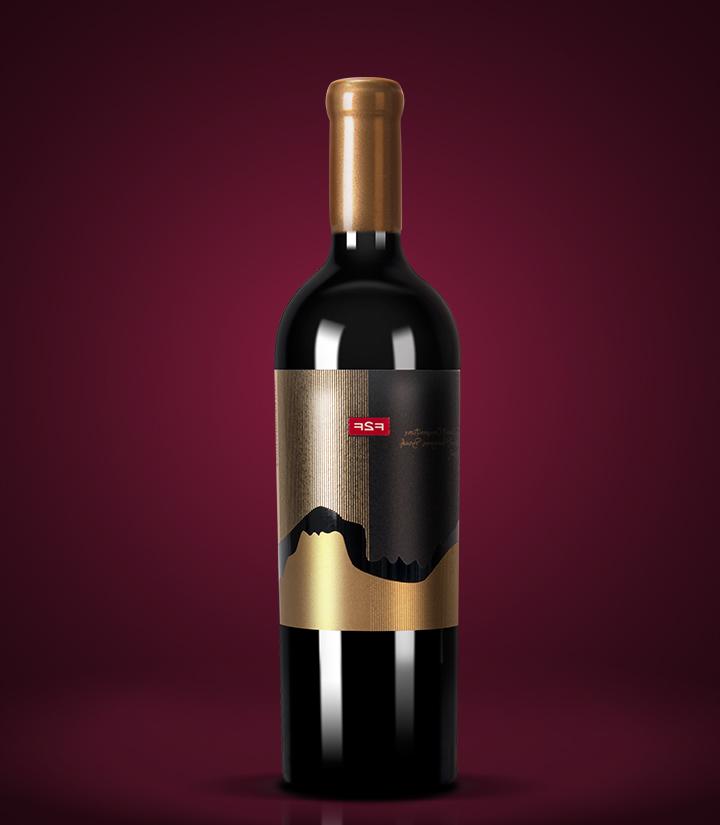 13°保加利亚面对面赤霞珠混酿干红葡萄酒750ml 瓶
