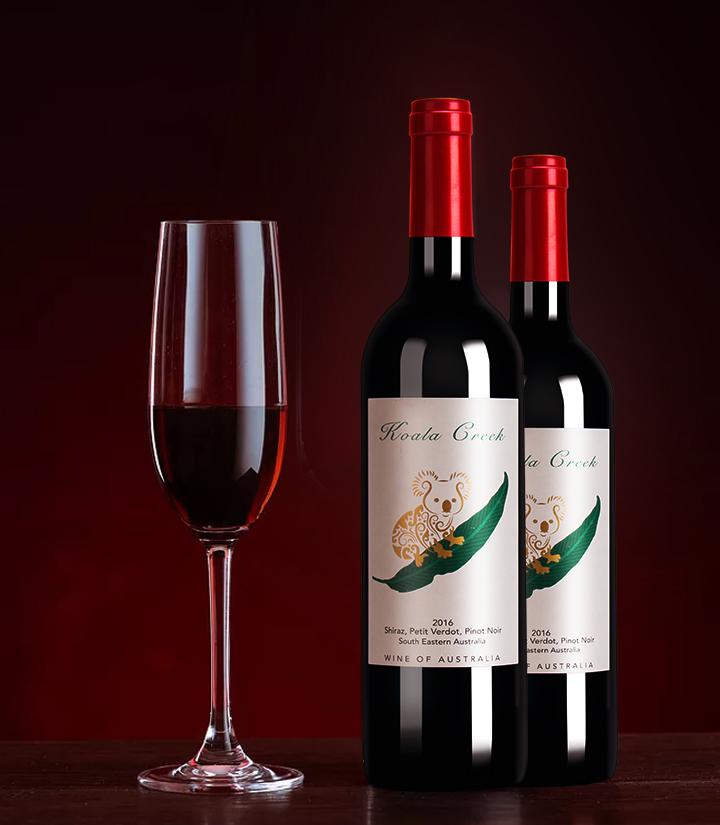14°澳洲考拉干红葡萄酒750ml 瓶