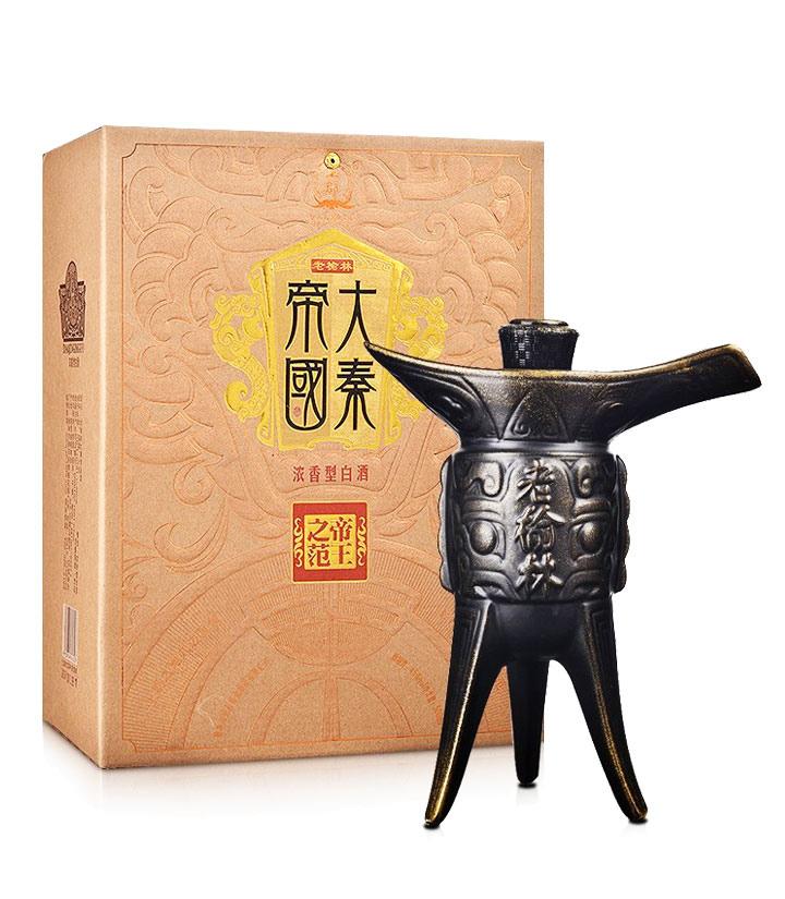 45°老榆林大秦帝国酒(爵)500ml 件