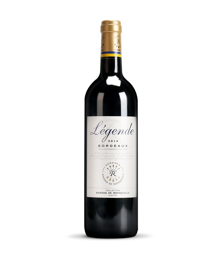 12.5°法国拉菲传奇波尔多红葡萄酒750ml 瓶